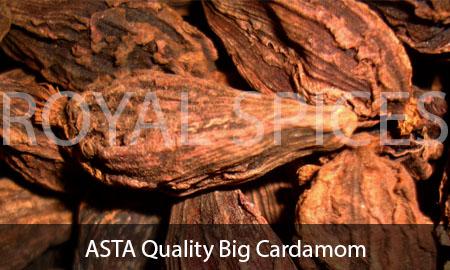 ASTA Quality Big Cardamom